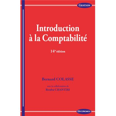 Introduction à la comptabilité, 14e éd.